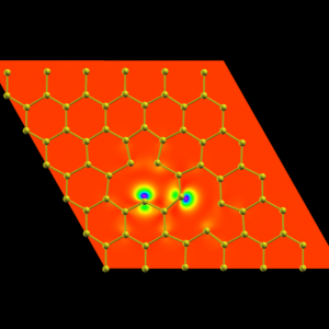 Electron density - spin_up + spin_down